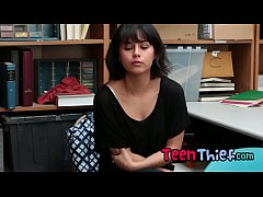 Teen Thief Penelope Gets Mouth Filled With Big ...