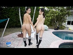 BANGBROS - Latina Babes Summer Bailey and Sophia Getting Their Big Asses Fucked On Ass Parade