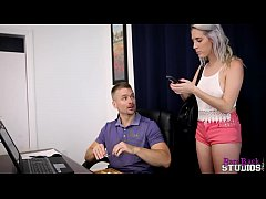 cadence luxx fucks her dad and makes him pay