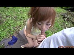 Appealing Mikuru Shiina delights with cock in her mouth