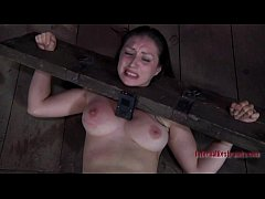 Torturing hotty with marital-aids