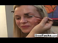 Blonde babe Bree Olson can't get enough anal sex