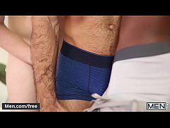 Men.com - (Diego Sans, Griffin Barrows, Liam Cyber) - Thoroughbred Part 3 - Drill My Hole