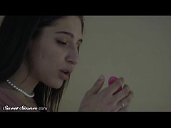 Abella Danger Pleasures Herself with a Dildo