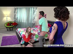 Brazzers - Mother and step daughter share big cock