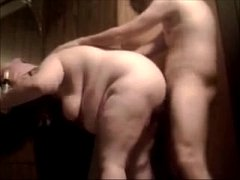 Fat Bitch Mom Gets Her Ass Fucked Raw And Creampie In Pain