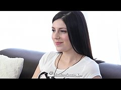 CastingCouch-X - Sexy Miranda has sex on camera for the first time