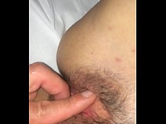 Playing my girlfriend pussy