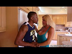 HD Horny MILF takes on 2 basketball studs on BlackOnMoms (xa15362)