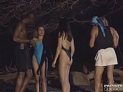 Private Classics, Three Latinas in an Interracial Anal Orgy