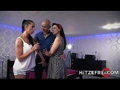 HITZEFREI German MILF finds herself a big cock to fuck