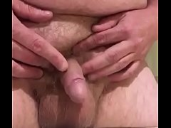 Small Chubby Dick Pissing in Sink