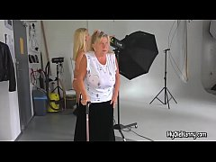 Helping the bbw lesbian seniors