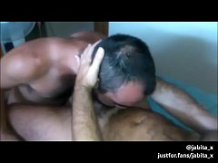 Threesome with two hot daddies
