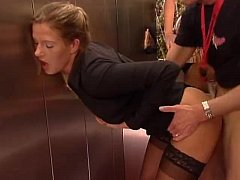 Elevator Antics With Friend Ass- More Videos On FreeXXXwebcams.org