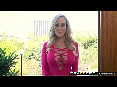 Brazzers - Pornstars Like it Big -  Internet Outage Poundage scene starring Alexis Fawx, Brandi Love
