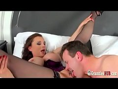 Hottest GILF Michaela O'Brilliant Gets Butt Fucked