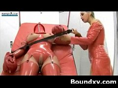 Wild Naughty Latex Milf Submission