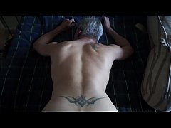 Clip sex Daddy drains my balls w/his butt