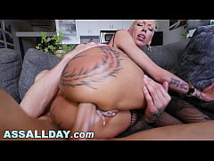 ASSALLDAY.COM - PAWG Bella Bellz Taking Anal From Chris Strokes