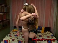 Two Russian Girls Get To Know Each Other