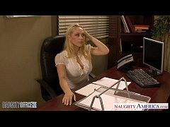 HD Blondes Kagney Linn Karter and Shawna Lenee fucking in the office