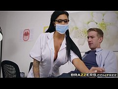 Brazzers - Doctor Adventures -  Open Wide scene starring Candy Sexton and Danny D