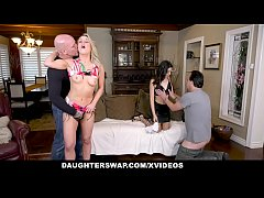DaughterSwap - Whore Teens Get Rammed By Their Daddies