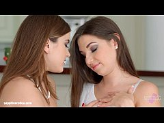 Morning Chill by Sapphic Erotica - lesbian love porn with Evalina Darling - Dian