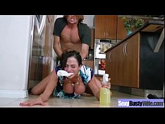 Sex Tape Made At Home With Bigtits Wife video-02
