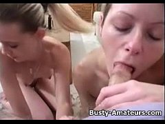 Busty Sunny and Holly on threesome POV