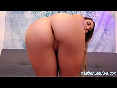Cute Teen Kimber Lee Shakes Her Bubble Butt For You To Cum!