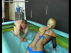 Petra mixed oil wrestling part 1