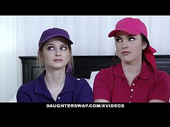 daughterswap - horny sporty girls ride stepdaddys cock