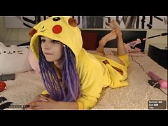 purple-bitch.com/chaturbate (Super Cute Pikachu Girl)