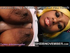 Big Natural Tits And Nipples Worhip By Horny Old Man , Curvy Ebony Body On African American Girl Msnovember