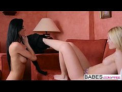 Babes - Chick Flick  starring  Sweet Cat and Eileen Sue  clip