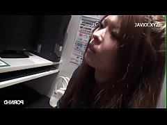 Blowjob in the internet cafe