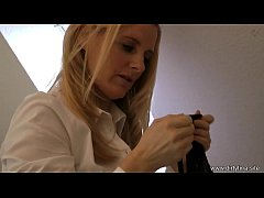 Horny double panties sniff clip