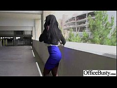 Hard Sex On Cam In Office With Big Juggs Gorgeous Girl (amia miley) clip-02