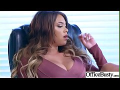 Hot Sex In Office With Big Round Boobs Girl (Cassidy Banks) video-06