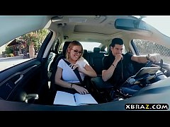 Police officer and criminal DP a busty horny student
