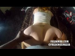 Amatuer PAWG gets pounded by BBC POV