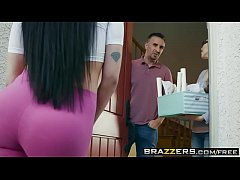 Brazzers - Mommy Got Boobs - Your Mom is the Bomb scene starring Isis Love and Rocco Reed - XNXX.COM
