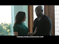 TeensLoveBlackCocks - Busty Karlee Grey Worships Monster Black Cock