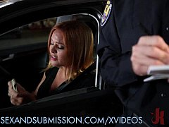 Babe Gets Fucked by the Law