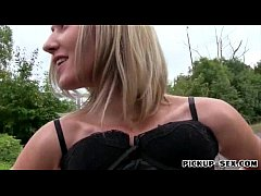 Hot Euro slut Blanka Grain with big boobs drilled for some money