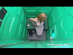 Porta Gloryhole Redhead sucks doctors cocks