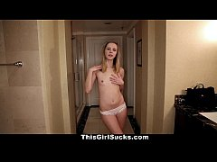 ThisGirlSucks - Blue Eyed Teen Pov Blow-Job