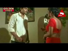 red saree aunty seducing hot